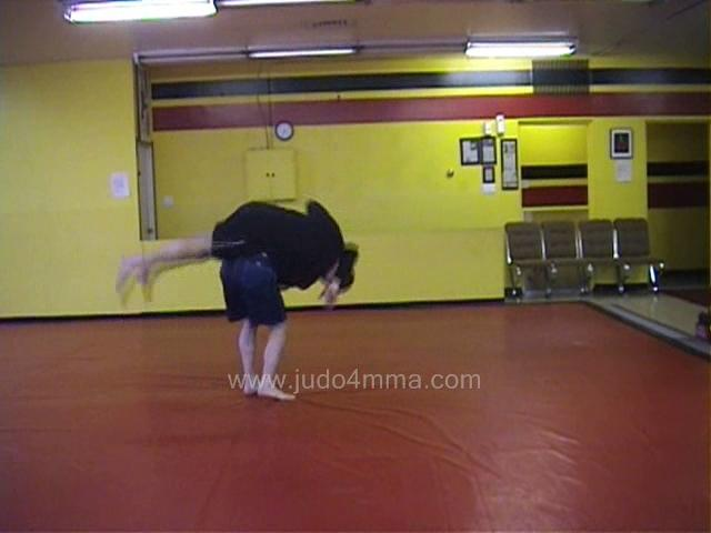 Click for a video showing a Judo for MMA technique called Koshi Guruma for MMA - Loin Wheel for MMA